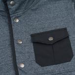 Мужская толстовка Mt. Rainier Design Heather Pocket Pullover Top Black фото- 2