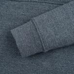 Мужская толстовка Mt. Rainier Design Heather Pocket Pullover Top Black фото- 3