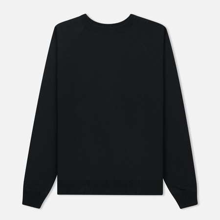 Мужская толстовка Nanamica Crew Neck Sweat French Terry Black