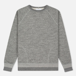 Мужская толстовка Nanamica Crew Neck Sweat Heather Grey фото- 0