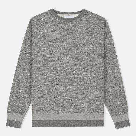 Nanamica Crew Neck Sweat Men's Sweatshirt Heather Grey