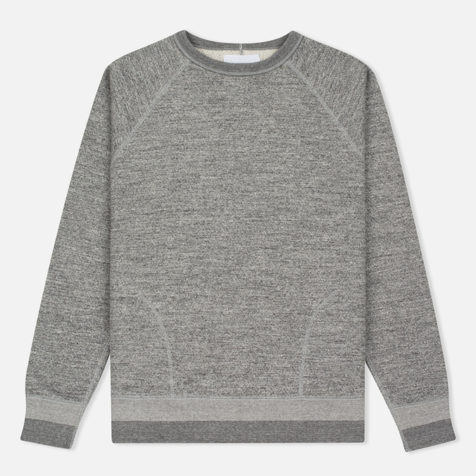 Мужская толстовка Nanamica Crew Neck Sweat Heather Grey