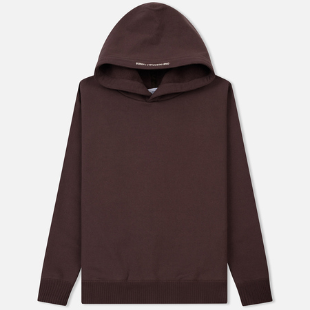 Мужская толстовка Nanamica Graphic Hooded Parka Brown