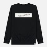 Мужская толстовка Nanamica Nanamican Crew Neck Black фото- 5