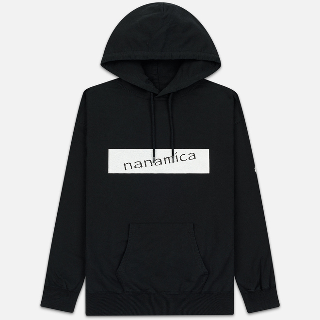 Мужская толстовка Nanamica Nanamican Hooded Pullover Black