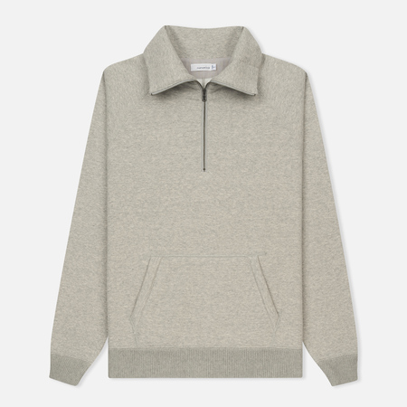 Мужская толстовка Nanamica Zip Turtle Sweat Heather Grey