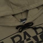 Мужская толстовка Napapijri Badstow Hood T1 Sage Green фото- 1