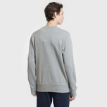 Мужская толстовка Napapijri Bago Crew Medium Grey Melange фото- 3