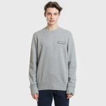 Мужская толстовка Napapijri Bago Crew Medium Grey Melange фото- 1