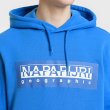 Мужская толстовка Napapijri Bago Hoodie Direct Blue фото- 2