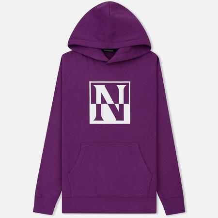 Мужская толстовка Napapijri Baoding Hoodie Mid Purple