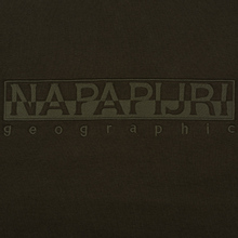 Мужская толстовка Napapijri Berber Green Forest фото- 2