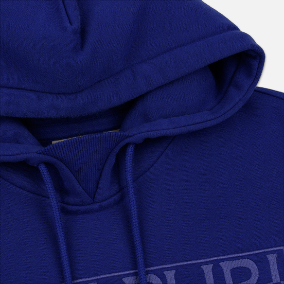 Мужская толстовка Napapijri Berber Hoodie Clematis Blue