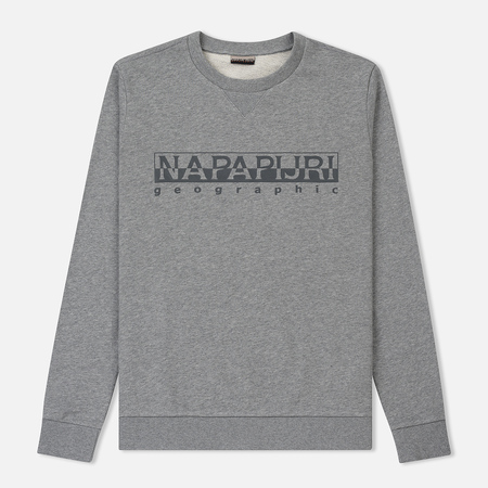 Мужская толстовка Napapijri Bevora C Medium Grey Melange
