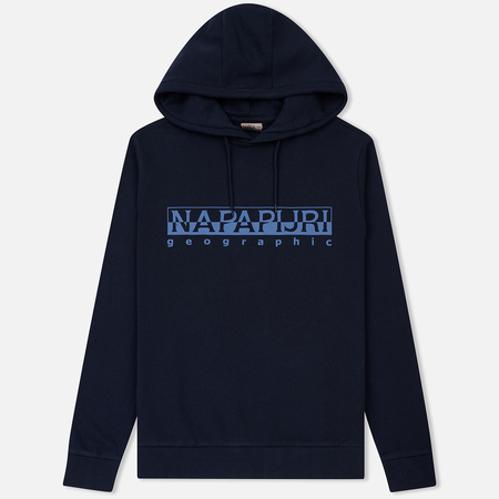 Мужская толстовка Napapijri Bevora Hoodie Blue Marine