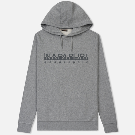 Мужская толстовка Napapijri Bevora Hoodie Medium Grey Melange