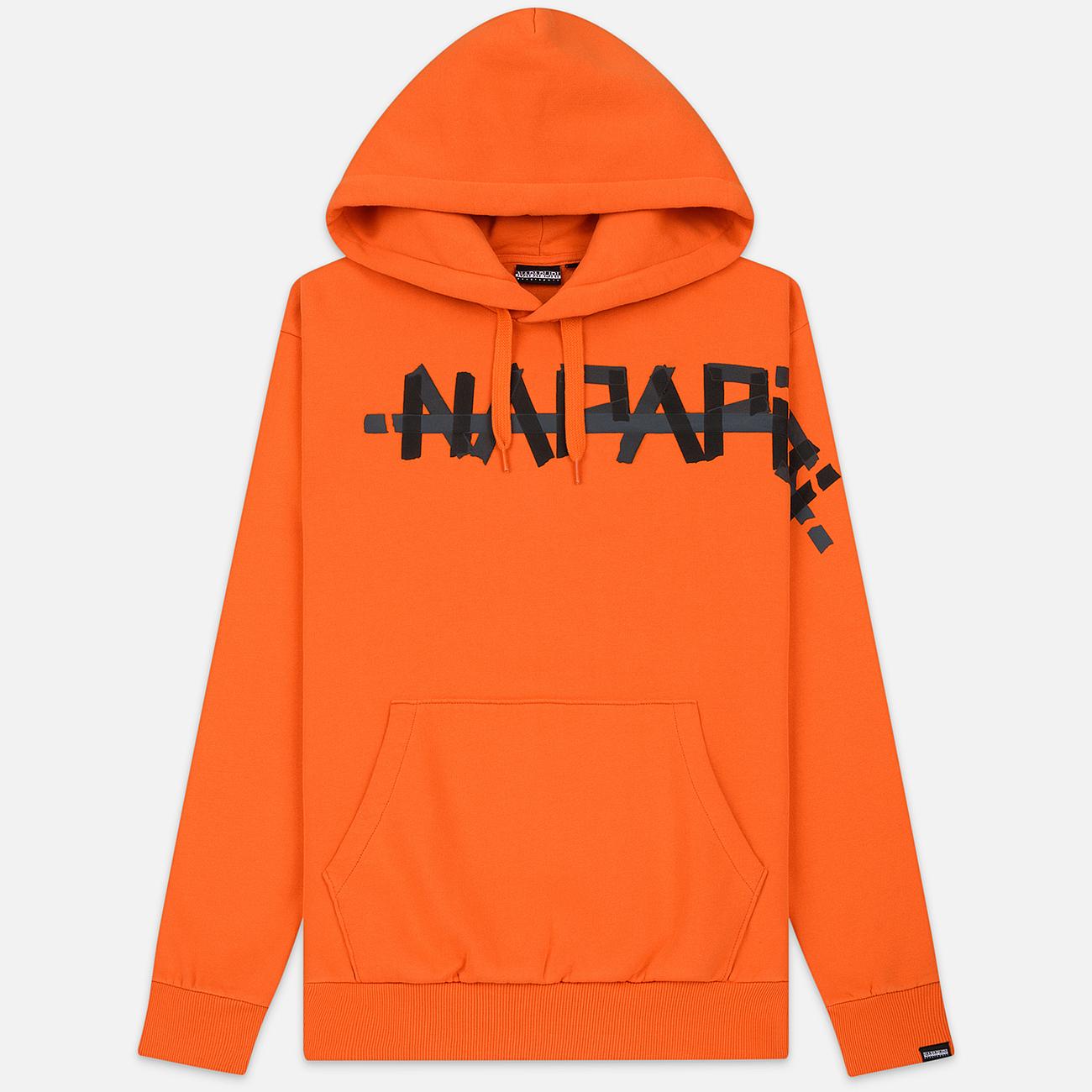 Мужская толстовка Napapijri Bolt Hoodie Orange Puffin