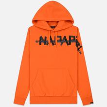 Мужская толстовка Napapijri Bolt Hoodie Orange Puffin фото- 0