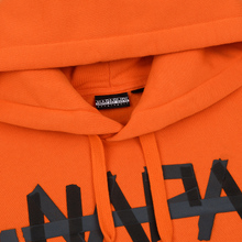 Мужская толстовка Napapijri Bolt Hoodie Orange Puffin фото- 1