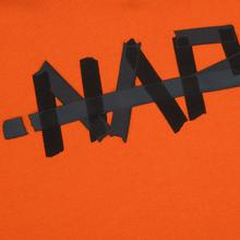 Мужская толстовка Napapijri Bolt Hoodie Orange Puffin фото- 2