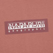 Мужская толстовка Napapijri Box Hoodie Pink Old Rose фото- 2