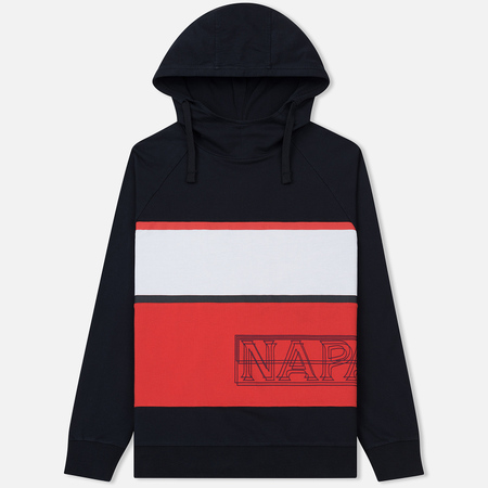 Мужская толстовка Napapijri Breda Stripe Navy/Red/White