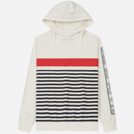 Мужская толстовка Napapijri Breda Stripe White/Red/Navy