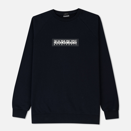 Мужская толстовка Napapijri Buka Crew Tribe Selection Blue Marine