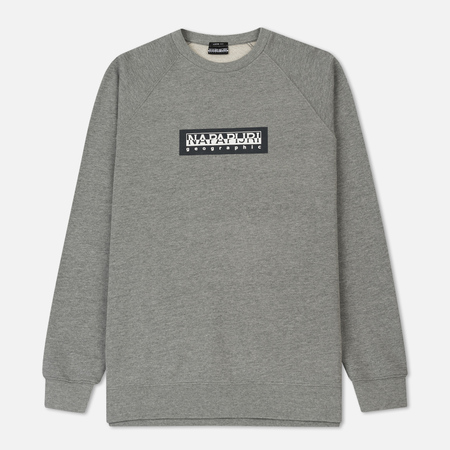 Мужская толстовка Napapijri Buka Crew Tribe Selection Medium Grey Melange