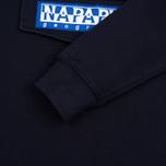 Мужская толстовка Napapijri Burgee Hoody Blue Marine фото- 3