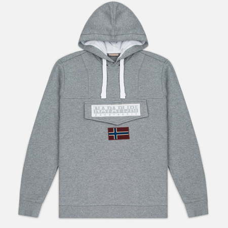 Napapijri Burgee Men's Hoody Medium Grey Melange