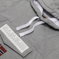 Мужская толстовка Napapijri Burgee Summer Hoodie Medium Grey Melange фото - 1