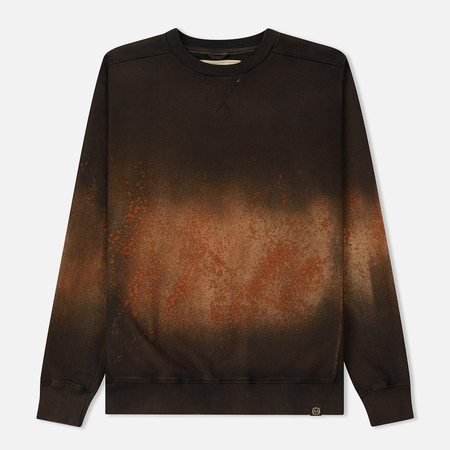Мужская толстовка Nemen Cotton Fleece Arcadia Round Neck Rusted