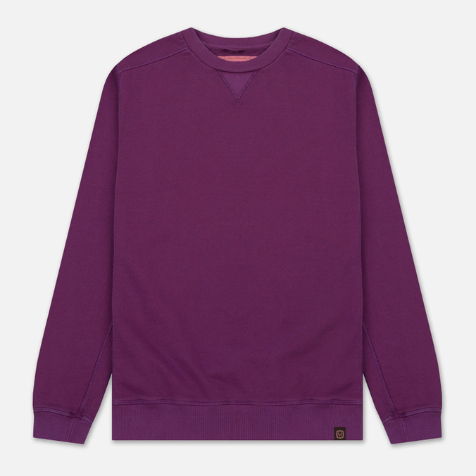 Мужская толстовка Nemen Cotton Round Neck Deep Purple