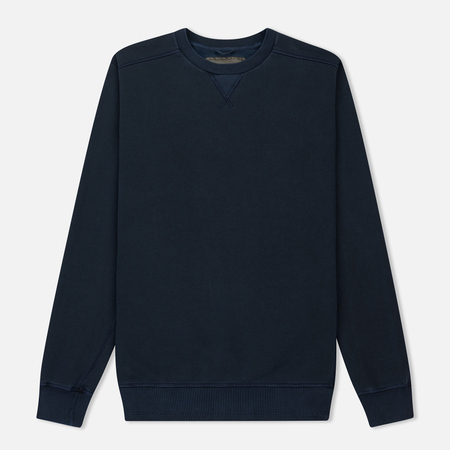 Мужская толстовка Nemen Cotton Round Neck Invisible Fleece Navy