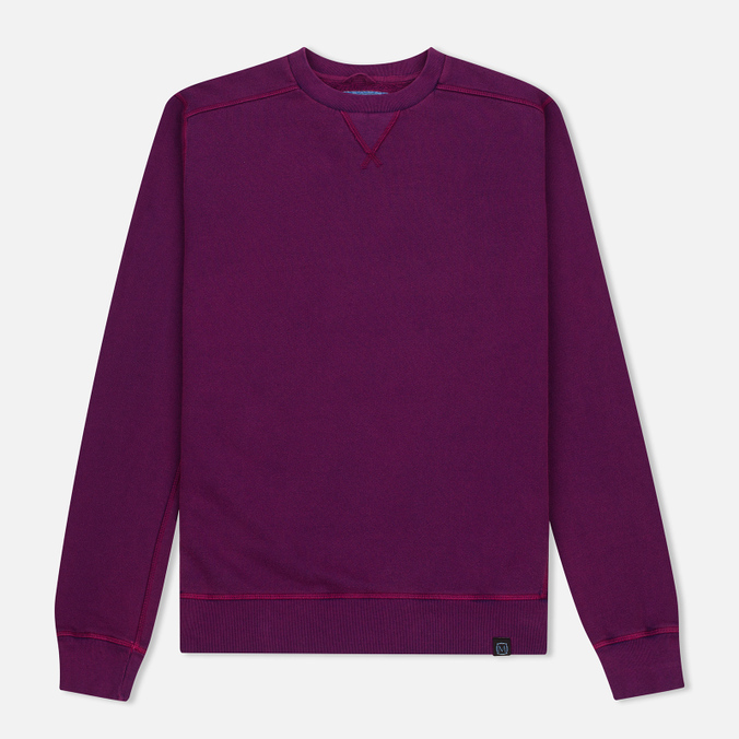 Мужская толстовка Nemen Cotton Round Neck Pigment Purple