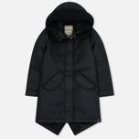 Женская куртка парка Nemen Leather Scuba Knit Ink Black фото- 0