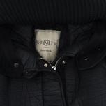 Женская куртка парка Nemen Leather Scuba Knit Ink Black фото- 1