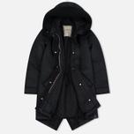 Женская куртка парка Nemen Leather Scuba Knit Ink Black фото- 2