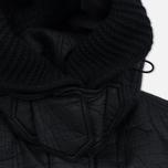 Женская куртка парка Nemen Leather Scuba Knit Ink Black фото- 4