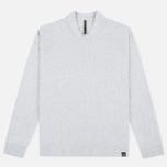 Мужская толстовка Nemen Seamless Knit Collar Light Grey Melange фото- 0