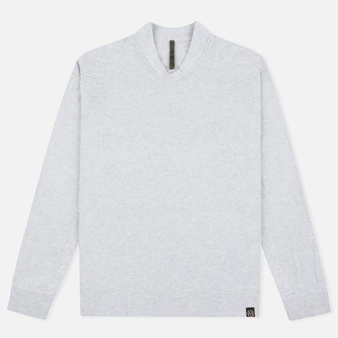 Мужская толстовка Nemen Seamless Knit Collar Light Grey Melange