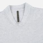 Мужская толстовка Nemen Seamless Knit Collar Light Grey Melange фото- 1