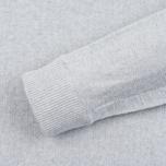 Мужская толстовка Nemen Seamless Knit Collar Light Grey Melange фото- 2