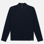 Мужская толстовка Nemen Seamless Knit Collar Navy фото- 0