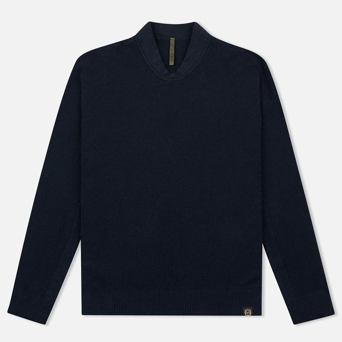 Мужская толстовка Nemen Seamless Knit Collar Navy