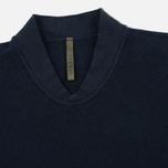 Мужская толстовка Nemen Seamless Knit Collar Navy фото- 1