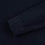 Мужская толстовка Nemen Seamless Knit Collar Navy фото- 2