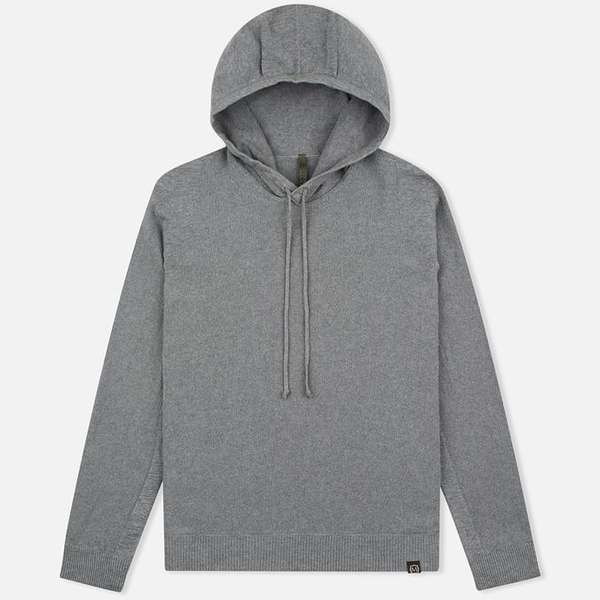 Nemen Seamless Knit Men's Hoodie Grey Melange