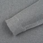 Nemen Seamless Knit Men's Hoodie Grey Melange photo- 2